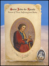 Saint John the Apostle: Burns